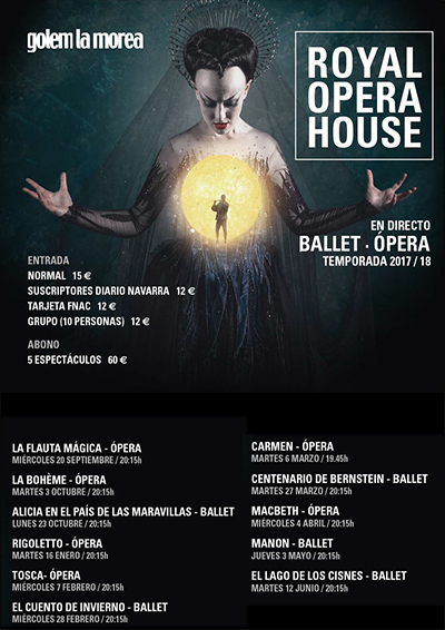 Royal Opera House en Golem La Morea