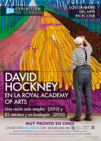 David Hockney en el Royal Academy Of Arts